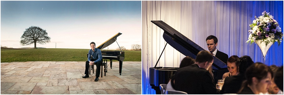 Benjamin Clarke | The Wedding Pianist - Heaton House Farm Recommended Supplier2