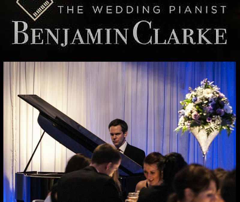 Getting to know Benjamin Clarke – 'The Wedding Pianist'