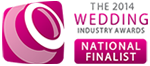 2014 Wedding Industry Award National Finalist