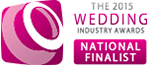 2015 Wedding Industry Award National Finalist