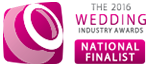 2016 Wedding Industry Award National Finalist