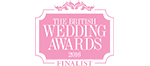 British Wedding Awards Finalist 2016