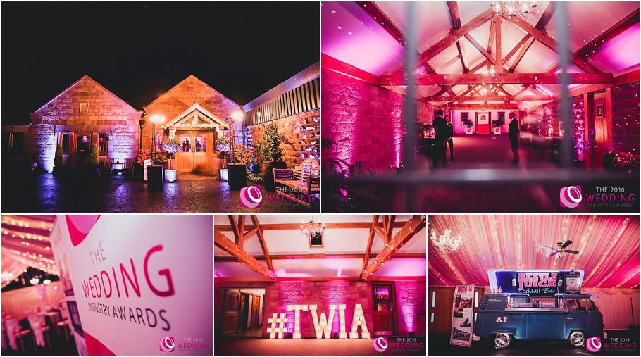 The Wedding Industury Awards 2016 at Heaton House Farm Wedding Venue - Best Events Team