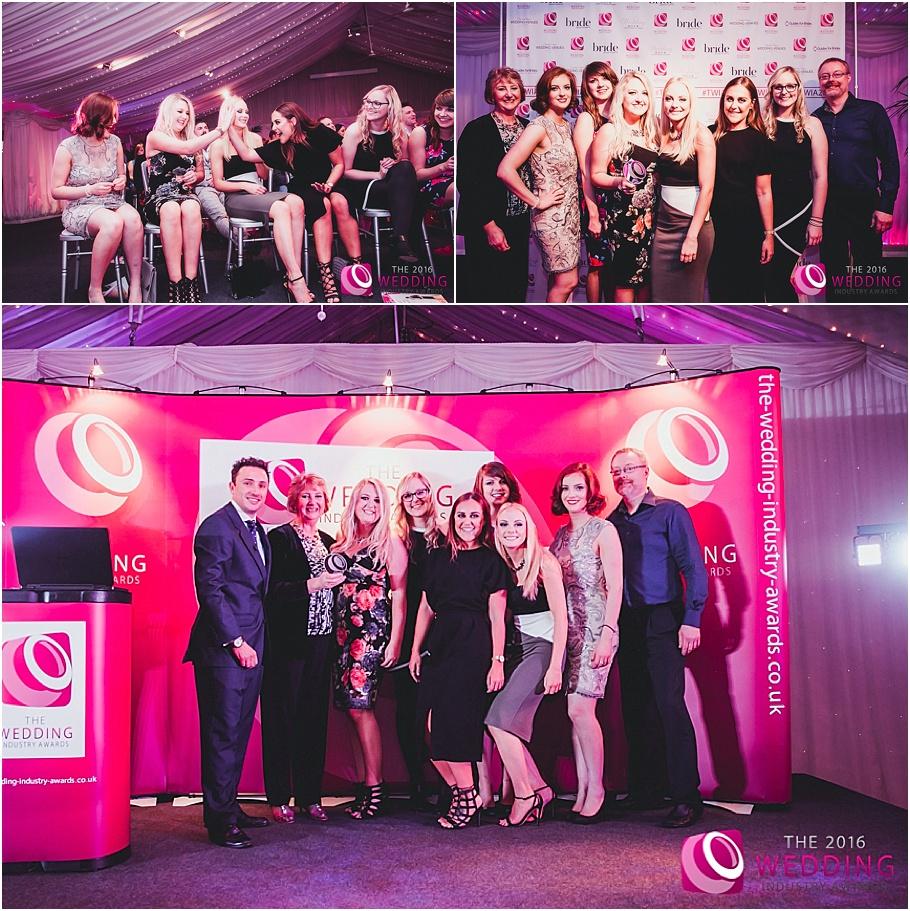 The Wedding Industury Awards 2016 at Heaton House Farm Wedding Venue - Best Events Team 5