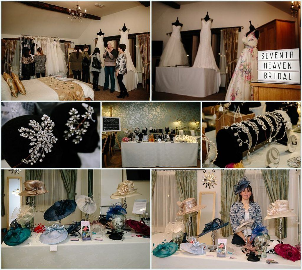 Heaton House Farm Experience Evening - November 2016 - Christmas Wedding (3) Wedding dress - dress shop - tiaras - mother of the bride hat hire