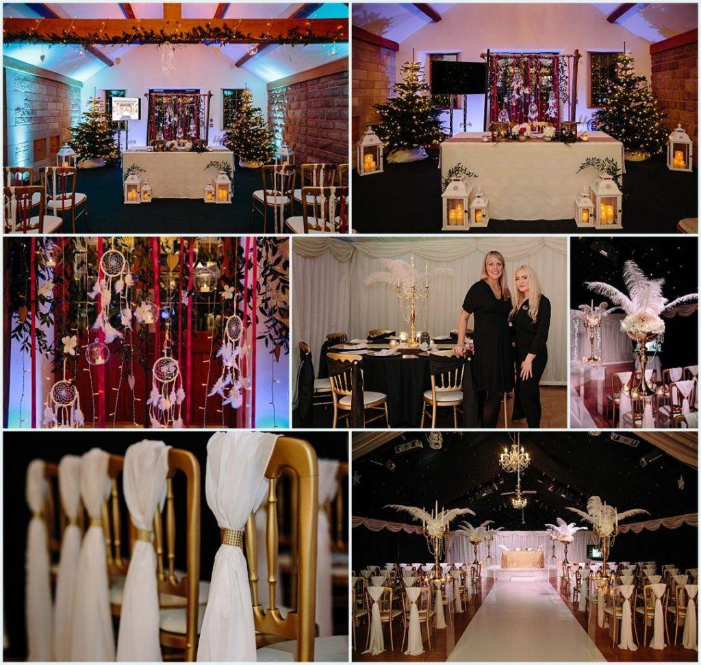 Heaton House Farm Experience Evening - November 2016 - Christmas Wedding (5) civil ceremony - boho style - great gatsby style - theme