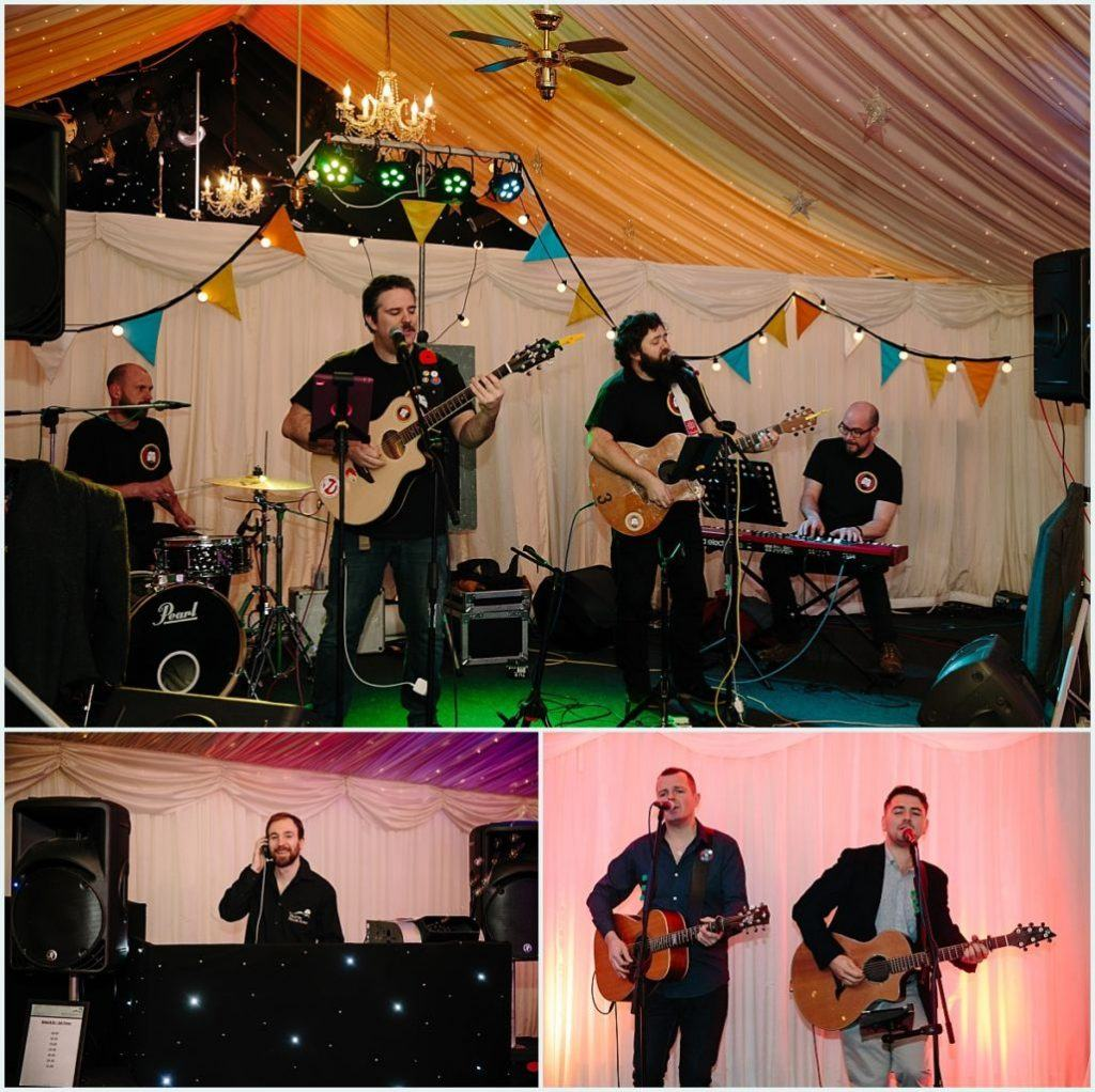 Heaton House Farm Experience Evening - November 2016 - Christmas Wedding (6) wedding band - wedding DJ - background music - dinner music - party band