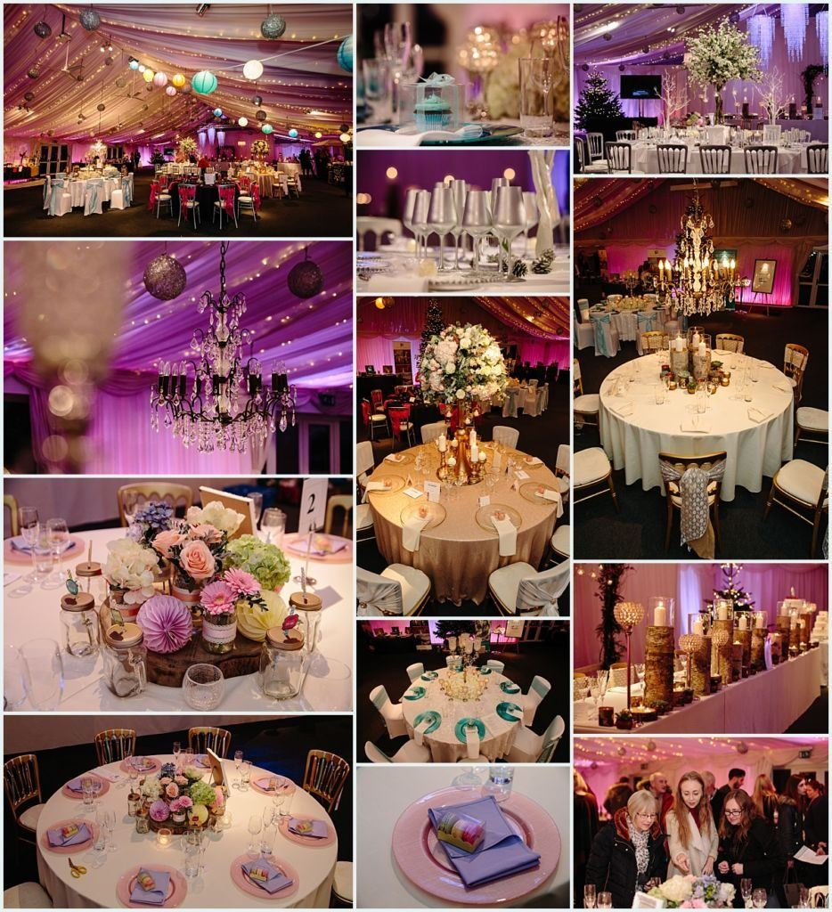 Heaton House Farm Experience Evening - November 2016 - Christmas Wedding (7) wedding theme - pastel - vintage - rustic - winter wonderland - table styling ideas