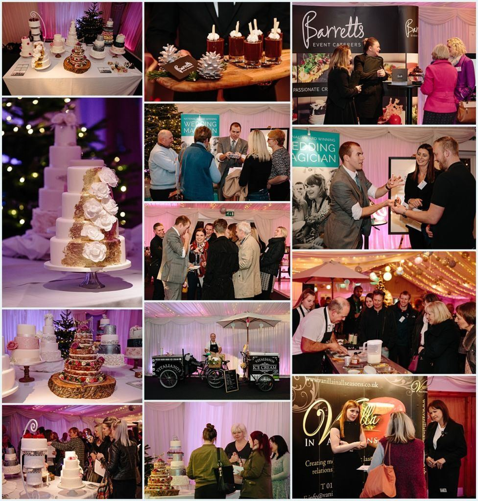 Heaton House Farm Experience Evening - November 2016 - Christmas Wedding (8) Wedding magician - wedding cake - icea creaqm - catering - food