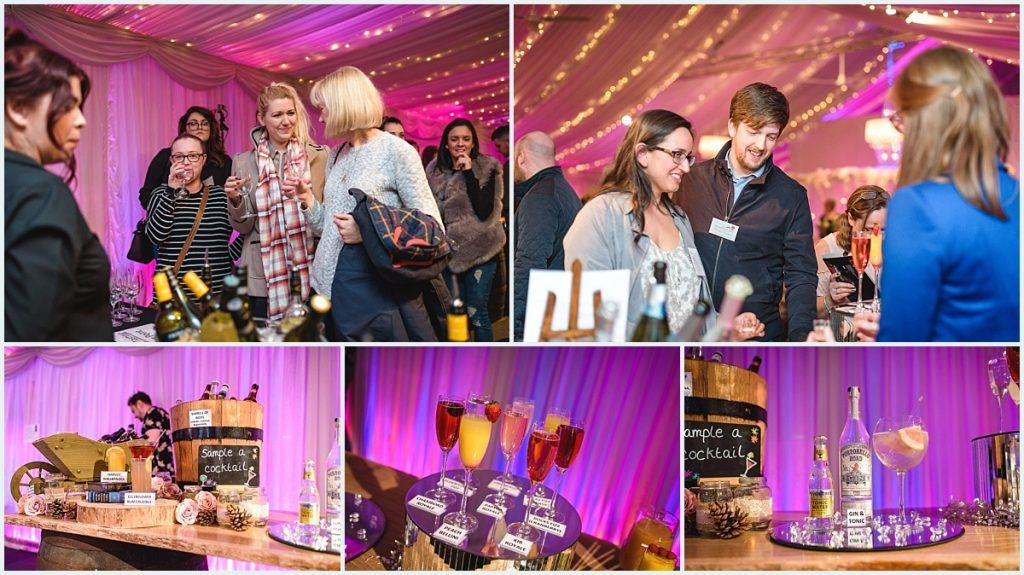 Heaton House Farm Experience Evening - Spring 2017 - Wedding Drinks - Reception Drinks - Toast Drinks - Prosecco - Cocktails - Wine Tasting