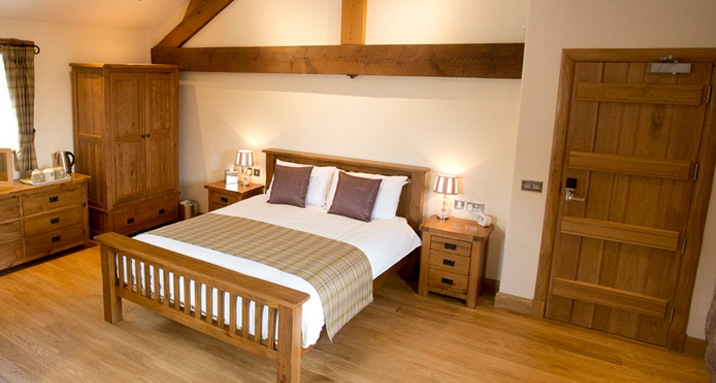 Accommodation at Staffordshire wedding venue