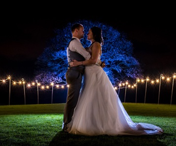Romantic North West wedding venue in Cheshire countryside