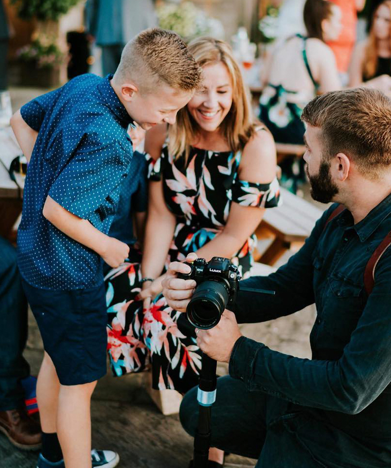 Kids at a barn wedding in Cheshire & Staffordshire