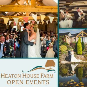 Heaton House Farm Wedding Venue Open Day 13th January 2018