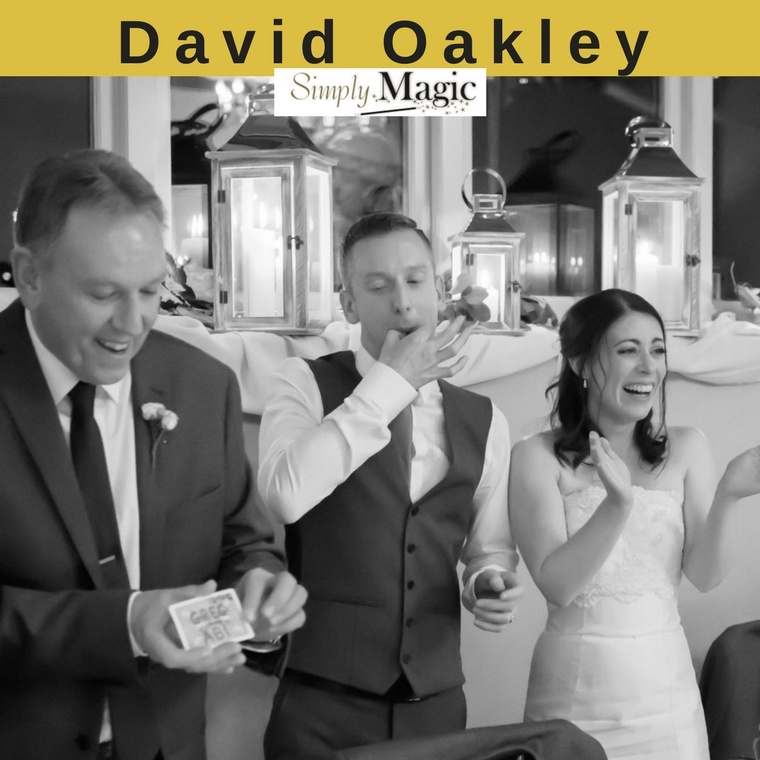 David Oakley Magician - Heaton House Farm Supplier