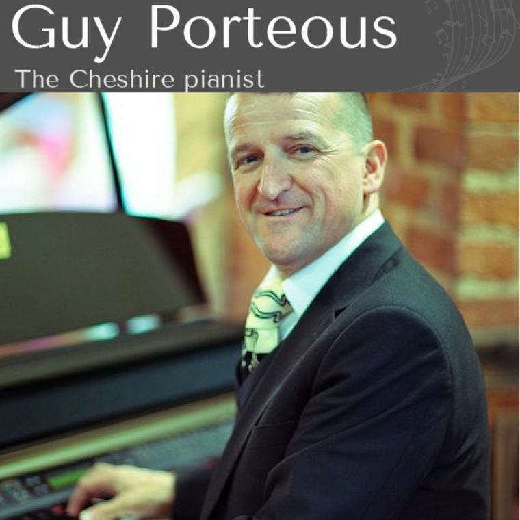Guy Porteous The Cheshire Pianist - Heaton House Farm Supplier