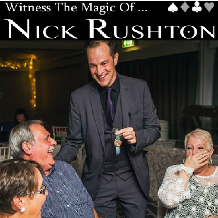 Nick Rushton Magician - Heaton House Farm Supplier