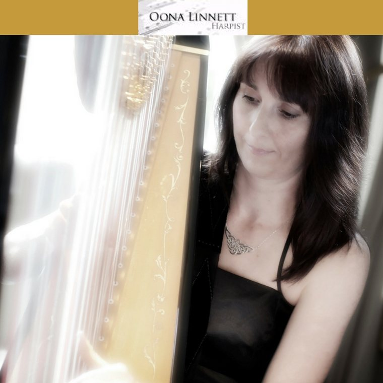Oona Linnett Harpist - Heaton House Farm Supplier