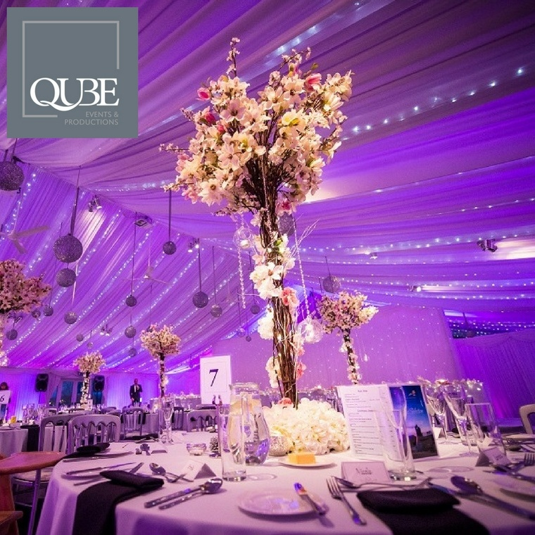 Qube Events and Productions - Heaton House Farm Supplier