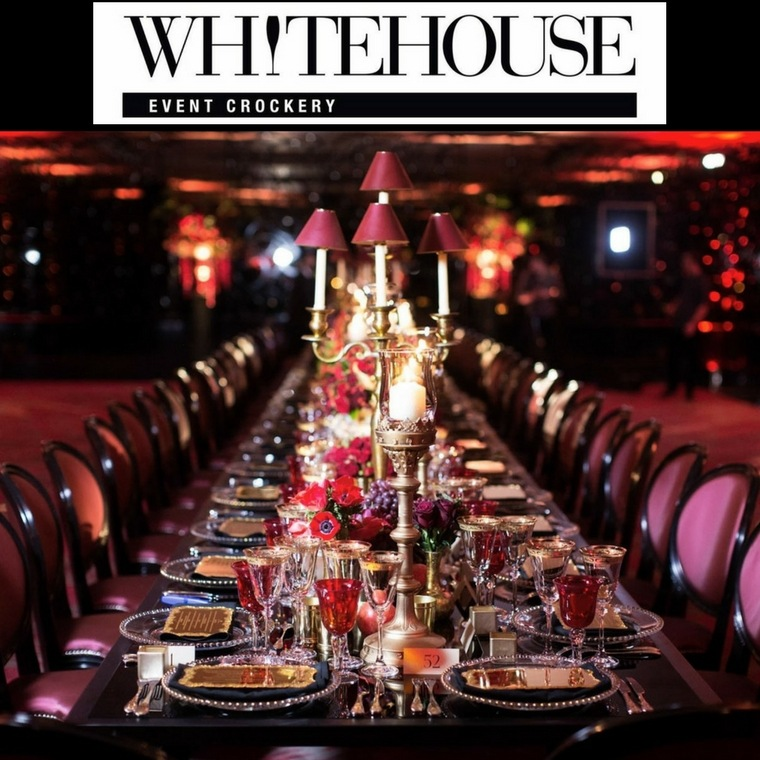 Whitehouse Event Crockery - Heaton House Farm Supplier