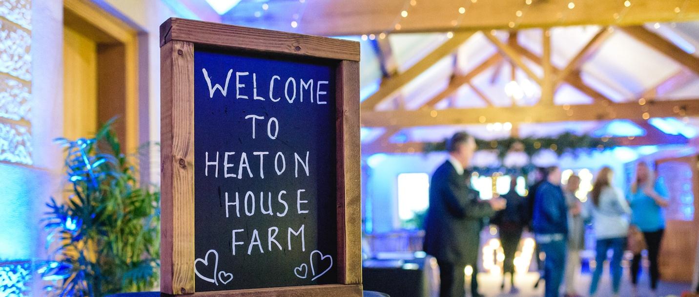 Welcome to Heaton House Farm