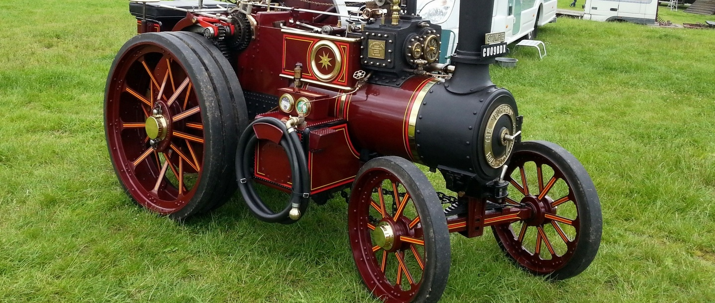 Macclesfield Vintage Machinery club Yesteryear Rally (1)