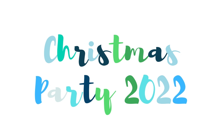 Christmas Party Save The Date Cards.Thursday 8th December 2022 Christmas Party Save The
