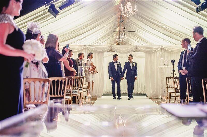 Nick & Dave's Spectacular Wedding Day