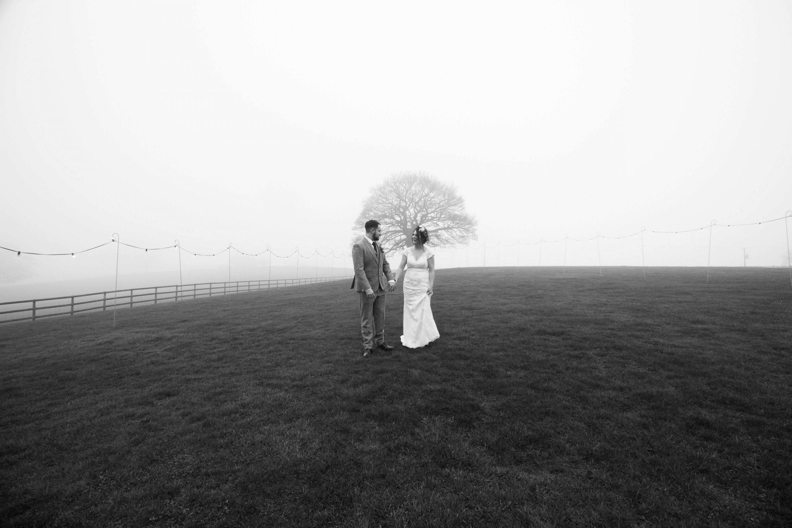 Stephanie & Jamie's Misty Wedding Day