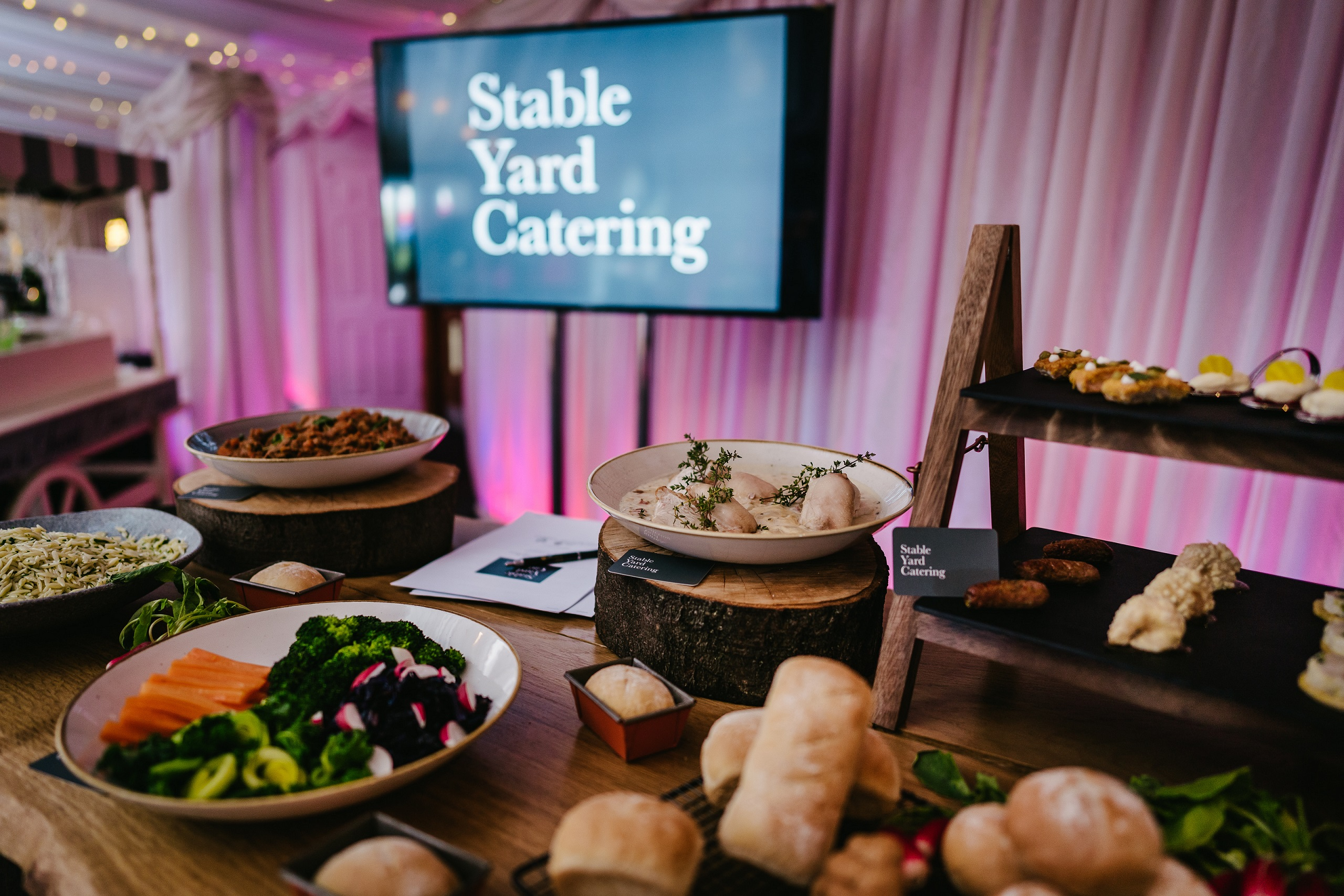 Heaton House Farm launch our own, dedicated wedding catering company